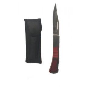 Нож складной большой в чехле