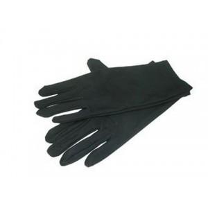 Перчатки жен черние еластичние флисовые с резиночкой
