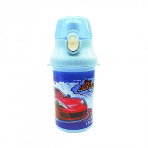 Бутылочка дестская для воды Beijing Kidis Crazy race 500 мл голубой 13011