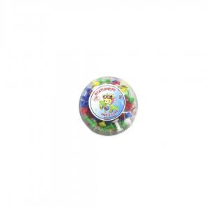 Кнопка бочка 50шт цветная Push Pins DL833 (10)