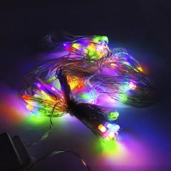 Светодиодная гирлянда SOFI 10 м 120LED кристал с прозрачным проводом 8 режимов мульти