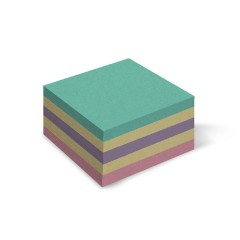 Папір для нотаток Mikc, кольоровий,  85х85мм 400арк.,не клейовий
