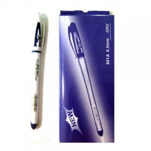 Ручка гелевая АН-801 синяя (12) (144) (1728)