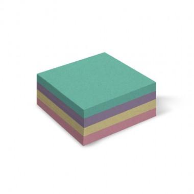 Папір для нотаток Mikc, кольоровий, 85х85мм 300арк., не клейовий