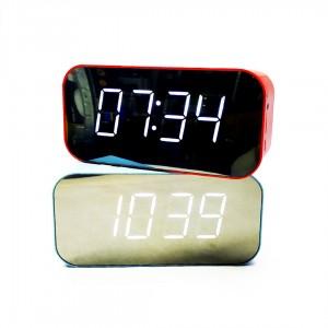 Колонка радио часы Wireless Speaker Bluetooth микс