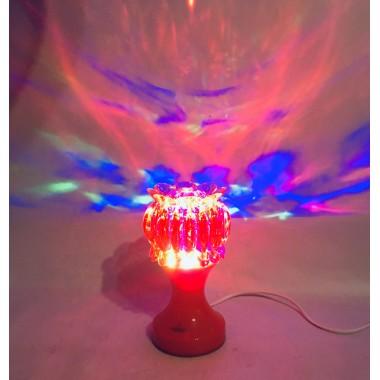 Светильник LED цветок диско шоу