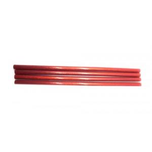 Клей для термопістолетів кольоровий з глітером 1,1-30 Червоний