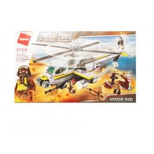 Конструктор Вертолет 280 деталей 6+ 32х19х4,5см