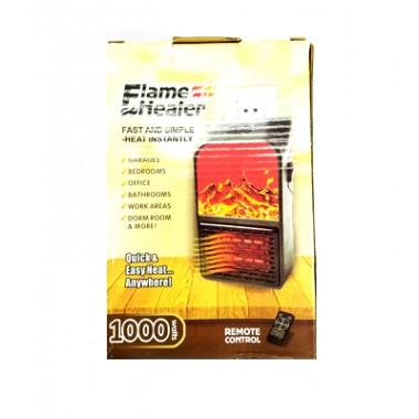 Обогреватель Flame Heater 1000w+пульт регул терм