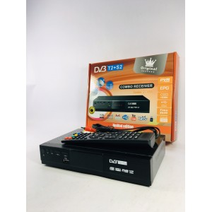 Приставка T2+S2 DV3 2USB MPEG4 HDMI Wi-Fi, You Tube, IPTV корпус металл. 22*13см.