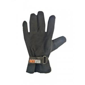 Перчатка тёплая черная