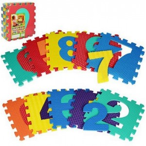 Коврик Мозаика №2609 (10шт) буквы