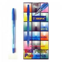 Ручка 927 Beifa синяя  (50) (4000)