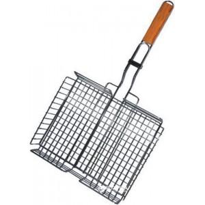 Решетка для гриля 30х21.5х4.5 см. с бортами