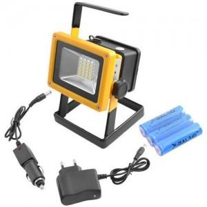 Прожектор фонарь переносной светодиодный на аккумуляторах  BL-204 LED 30W