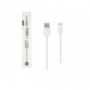 Кабель USB-micro HAVIT HV-CB8601 USB2.0  1м. белый