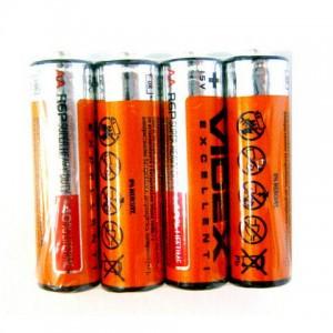 Батарейка R6 Videx 1*4 (60) (1200)