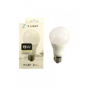 """Z-LIGHT LED Лампа """"шар"""" A60 ZL 16515274 15w 4000k E27"""