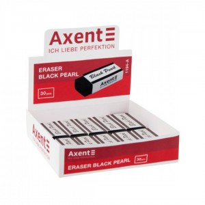 """Ластик """"Axent"""" 1194 Black Pearl"""