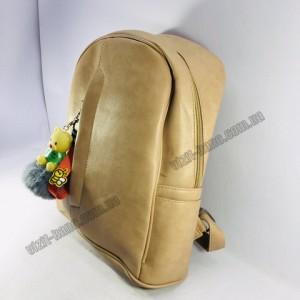 Рюкзак E*S коричневый 35*24см.