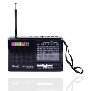 Радиоприемник + фонарик Golon RX-321 черный