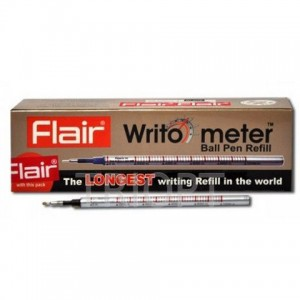 Стержень 10км. FLAIR  Writo-meter черн (12) (50) (5000)