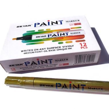Маркер-краска Золото PAINT ZP1501 (12)