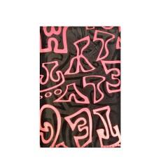 Адресна книга  А5, однокол.друк, 120 аркушів, крем.папір