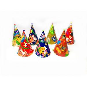 Колпак Праздничный ассорти (7 видов)