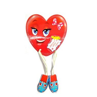 Валентинка  Сердце магнит