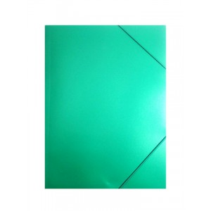 """Папка пл. А4 """"BuroMAX"""" 3911-04 2 рез. зел."""