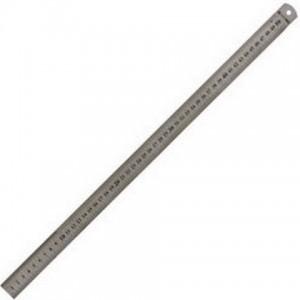 Линейка металлическая 50см  (0,5 мм) (12)