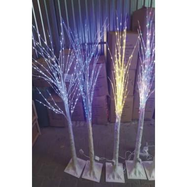 "Новогоднее декоративное светодиодное дерево гирлянда ""Береза"" 160 см 96 Led  синий"