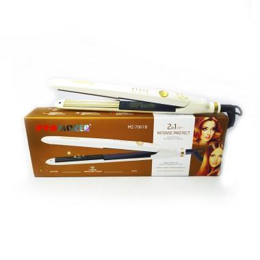 Гофре для волос MZ-7061B PRO MOZER белый