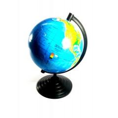 Глобус 16см физич.