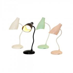 Лампа LED в кольоровій коробці, 3 рівня яскравості. Працює на акумуляторі. Заряджається від USB-кабе