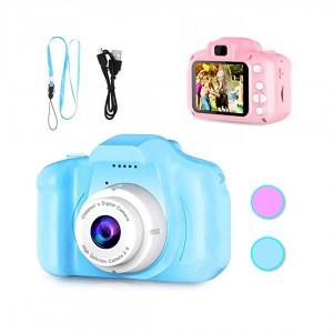 Фотоапарат  Видеокамера цифровая детская Summer Vacation голубой