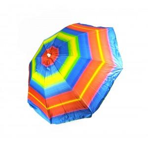Пляжный садовый зонт от солнца Best Радужный с наклоном и регулировкой высоты 180 см