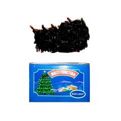 Светодиодная гирлянда SOFI 10м 400LED свеча матовая с черным проводом 8 режимов  мульти