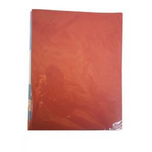 Папка А4 пластиковая с зажимом