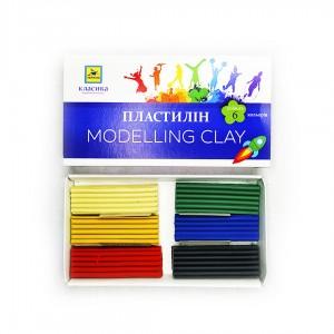 """Пластилін """"Класика"""" 6 кольорів"""