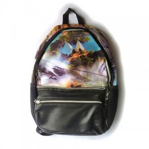 Рюкзак женский Сидней 30х40 см с фото принтом