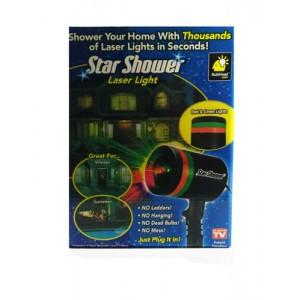 Новогодний лазерный проэктор Star Shower 4 режима работы