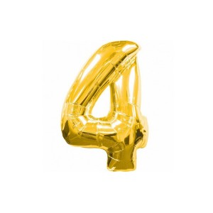 Кулька цифри золото 45см. номер -4