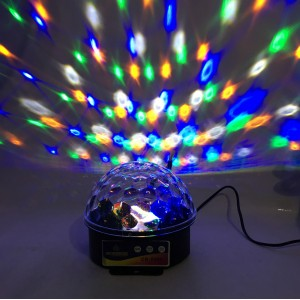 Ночник проектор Crownberg от сети  мульти