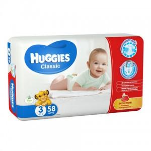 Подгузники Huggies №3 (58шт.)