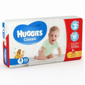 Подгузники Huggies №4 (50шт.)