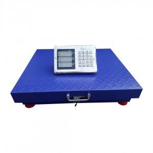 Весы торговые напольные с усиленной стойкой OPERA OP-600 до 600кг.WiFi