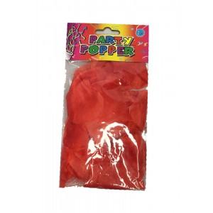 Лепестки роз искусственные Party Popper 5х5 см 60047