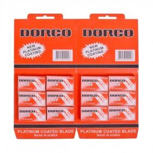 Лезвия DORCO классические двухсторонние Х1–77 /ST-300